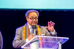 2018-02-18 NDCC - 11a - New Destiny Christian Center - 11a service - Rosa Parks Community Service Award